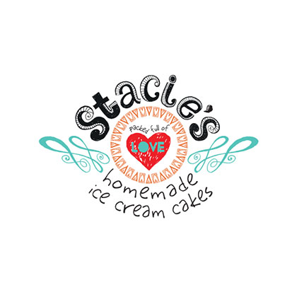 Stacie's Cakes | Rack Card, Cake Box Stickers, Order Forms