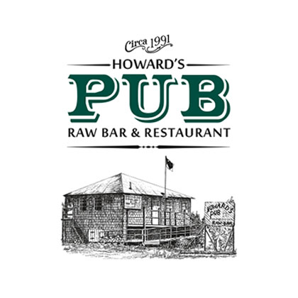 Howard's Pub Raw Bar & Restaurant | Menus, Matchbooks, Napkins